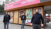 abren los teatros independientes en la ciudad