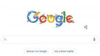 Felices Fiestas 2020: el doodle de Google