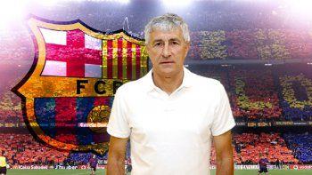 Quique Setién continuará la demanda contra el Barcelona