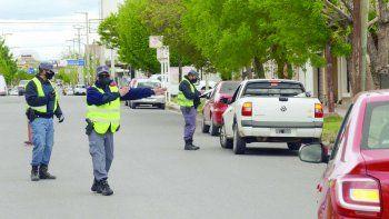 Los operativos conjuntos entre Seguridad Vial y la Policía se dispusieron en las principales calles y avenidas de la ciudad.