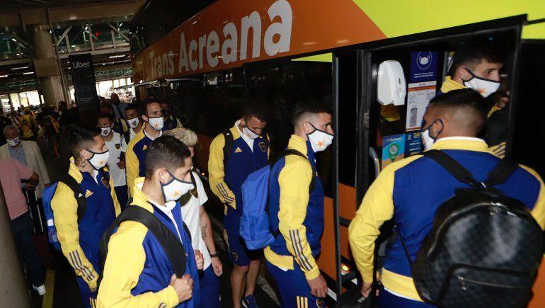 Boca, lleno de confianza, va por la final frente a Santos