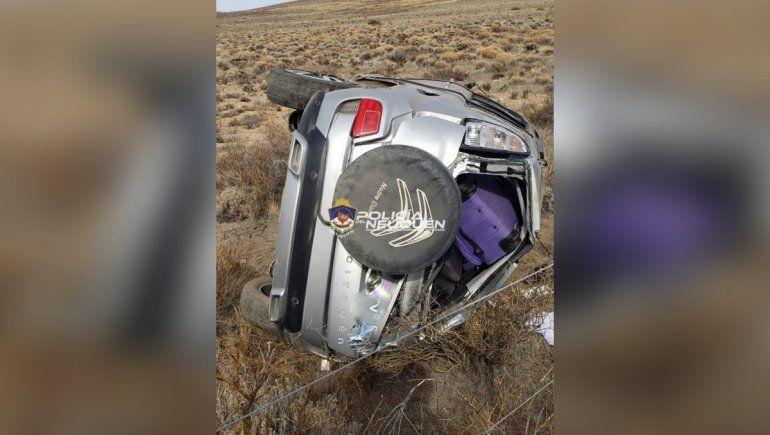 Otro trágico vuelco en la Ruta 237: murió una nena