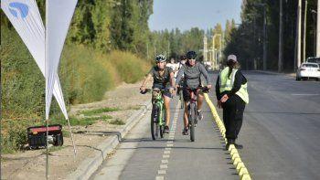Cambiaron el recorrido del ramal 15 por una bicicalle