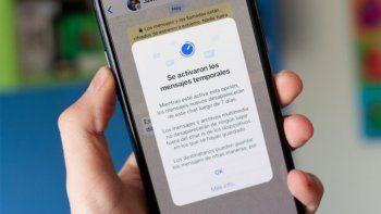 whatsapp: los mensajes temporales comienzan a llegar a todos los usuarios