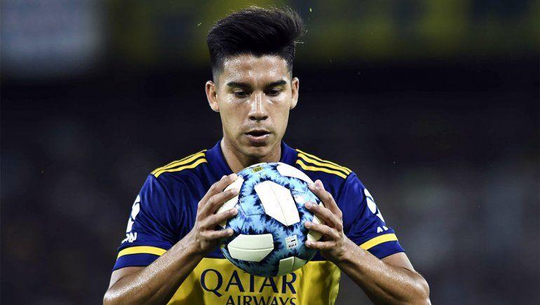 Pol Fernández no juega más en Boca.