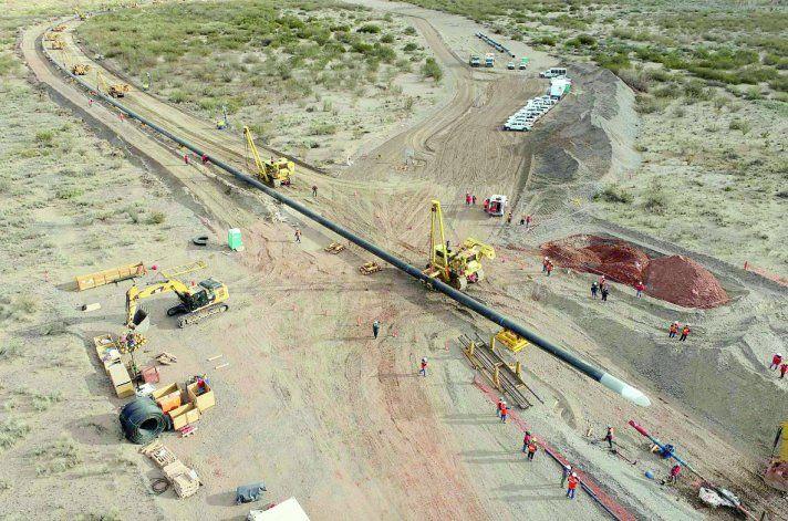 La construcción del gasoducto servirá de apoyo para el nuevo Plan Gas.Ar, que permitirá incentivar la producción en los meses de mayor demanda.