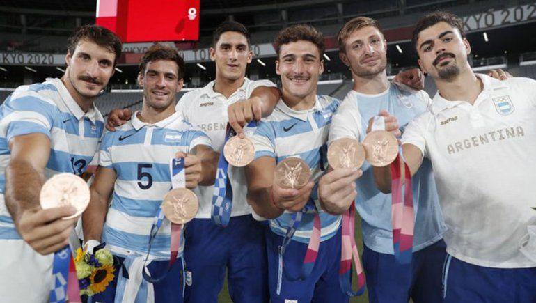 Los Pumas 7s ganaron la primera medalla argentina en Tokio 2020