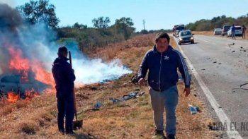 el nieto de atahualpa yupanqui fallecio en un accidente vial