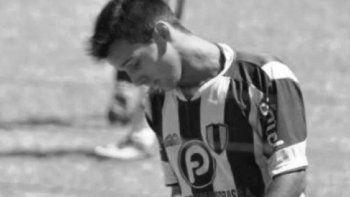 conmocion en el futbol por el suicidio de otro joven y querido jugador