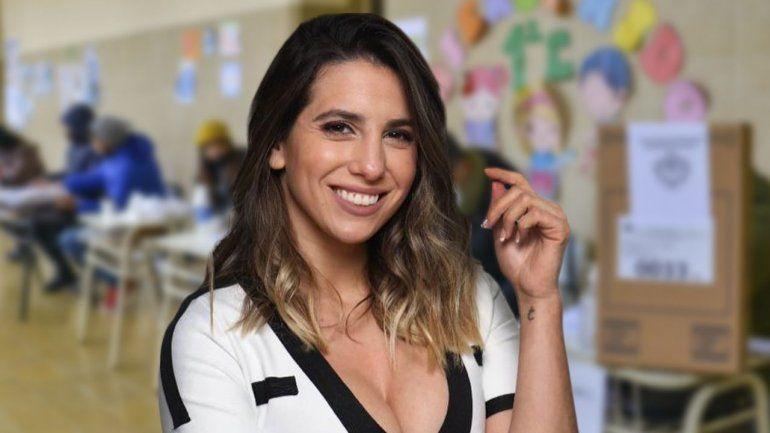 La primera votación de Cinthia Fernández como precandidata