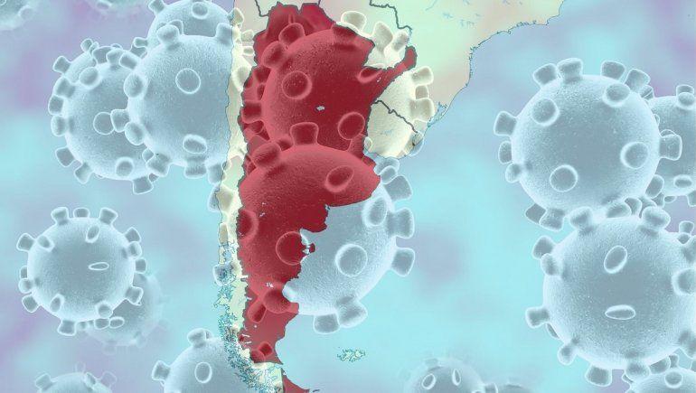 Cifras oficiales sobre los contagios de coronavirus en Argentina.