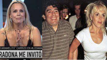 Caramelito contó que Diego la encaró y que lo rechazó por Claudia