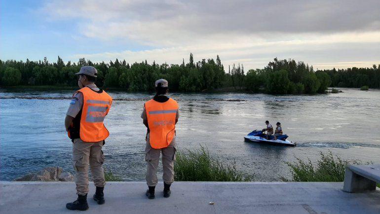 Intensa búsqueda de un joven en el Balneario Río Grande