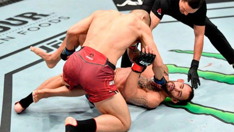 UFC: el argentino sufrió un tremendo nocaut en su regreso