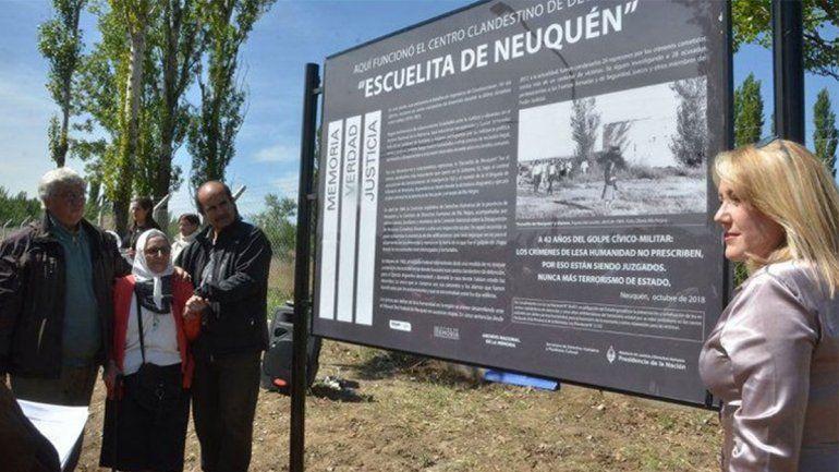 Robaron el cartel de señalamiento del centro clandestino de detención La Escuelita