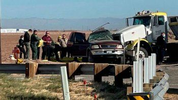 al menos 15 muertos en un accidente en el sur de california
