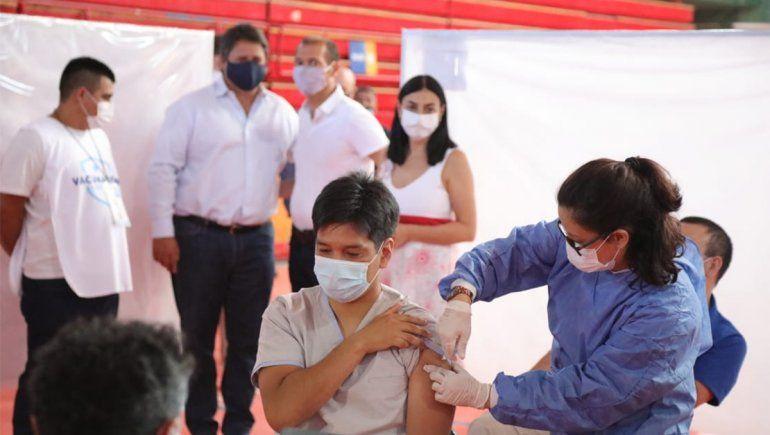 Neuquén comenzó a vacunar contra el coronavirus en cuatro ciudades