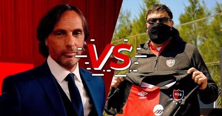 Otro ataque de Gustavo López a Burgos y la queja de Scocco
