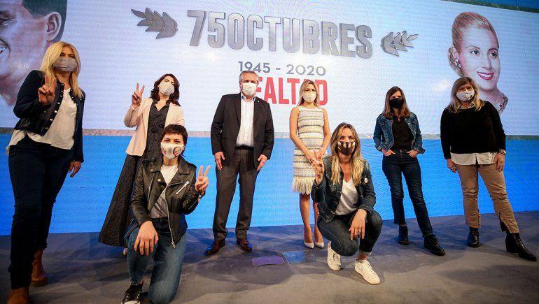 Alberto F. dijo que curará a esta Argentina enferma