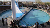 aniversario de neuquen: asi fueron los festejos en la plaza de las banderas
