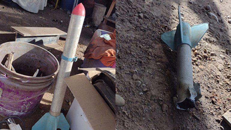 El hombre al que le explotó un cohete antigranizo sufrió heridas en sus ojos
