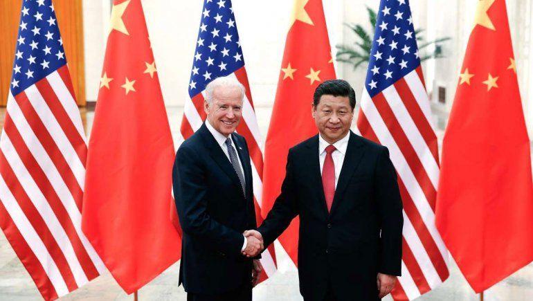 El presidente chino Xi Jinping felicitó al estadounidense Biden