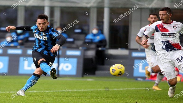 Inter de Milán golea con Lautaro Martínez de protagonista