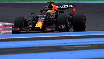 Max Verstappen y Lewis Hamilton integrarán la primera fila del Gran Premio de Francia de Fórmula 1