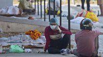 record mundial: india supera por primera vez los 400.000 casos diarios