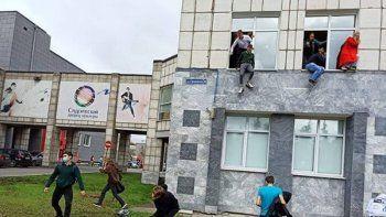 tiroteo en una universidad rusa: al menos 6 muertos