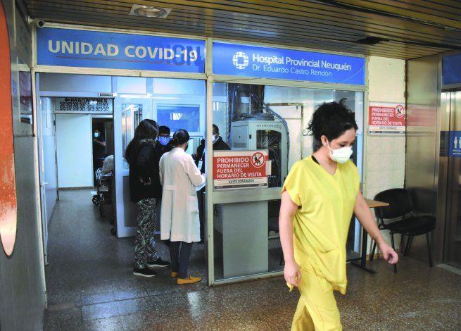 Hay 80 neuquinos con COVID-19 internados en terapia intensiva.