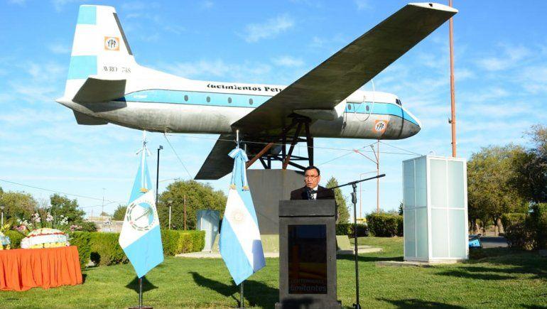 A 45 años, Cutral Co recordó la tragedia del avión de YPF