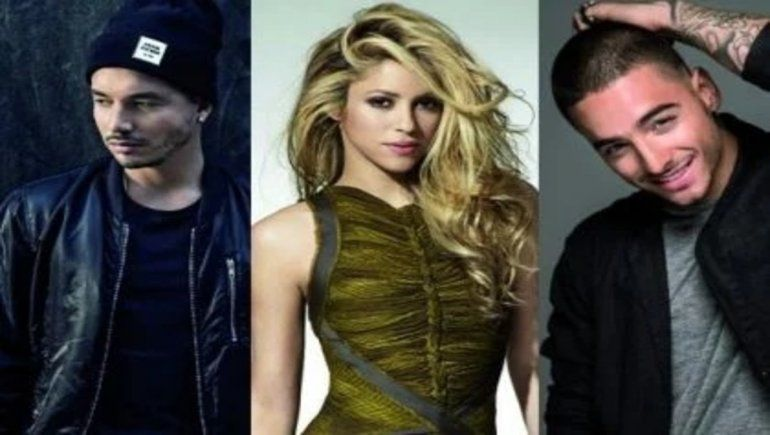 J Balvin se burló de Shakira y Maluma salió a defenderla