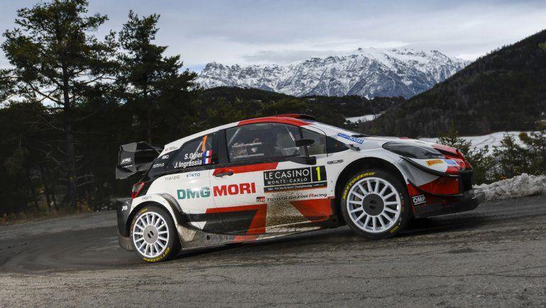 Sébastien Ogier ganó el Rally de Montecarlo y lidera en la apertura del Rally Mundial.