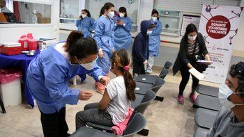 El 41% de los nenes de 3 a 11 años ya tiene una dosis