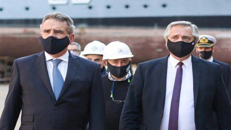 Bomba: Alberto Fernández confirmó que Agustín Rossi dejará el Ministerio de Defensa