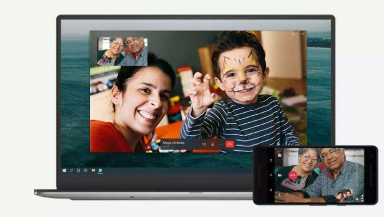 WhatsApp añade la función de llamadas de voz y vídeo a la versión de escritorio