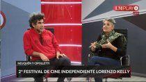 comenzo el festival de cine independiente lorenzo kelly