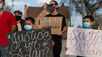 violencia policial en ee.uu.: mataron a un chico hispano