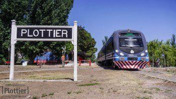 Antes de la fecha prevista, el Tren del Valle llegará hasta Plottier