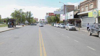 Lunes muy feriado: así están las calles de Neuquén