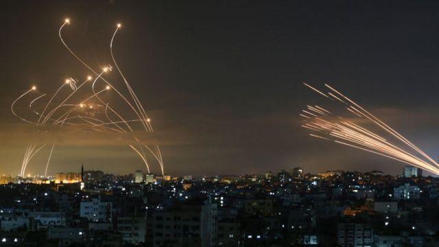 Una de las imágenes más emblemáticas de este ataque que comenzó Hamas.