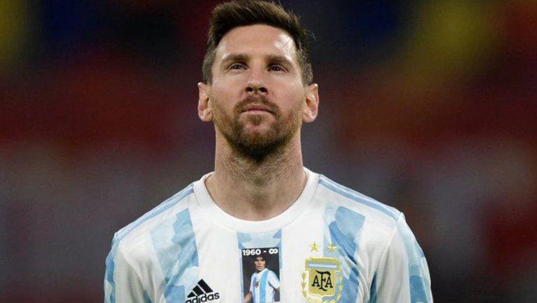 Esta es la camiseta especial con la que Messi y la Selección Argentina homenaje