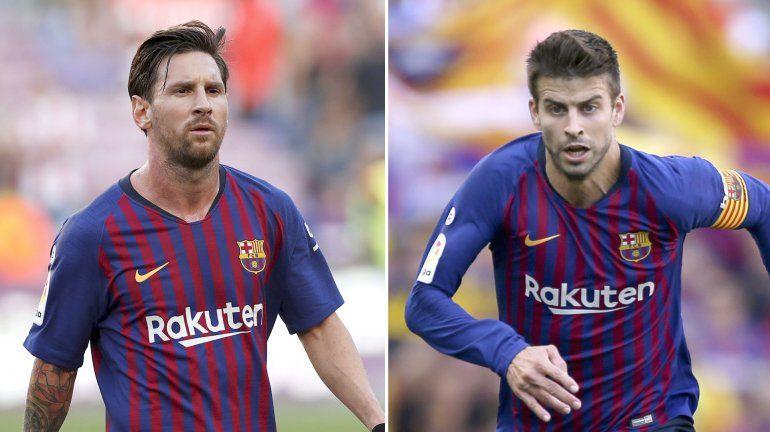 ¿Estaban peleados? Piqué rompió el silencio y bancó a Messi