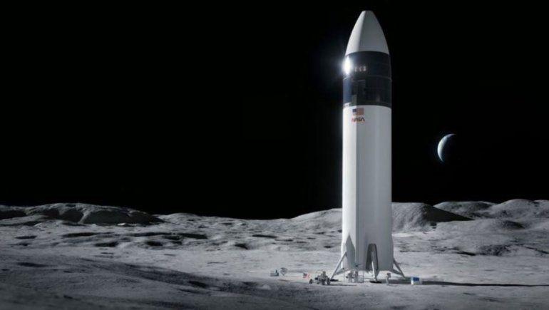 La NASA eligió a Elon Musk para volver a la Luna