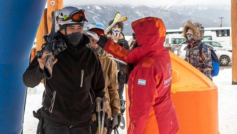 Chapelco recibió a los esquiadores con más actividades