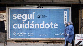 Coronavirus: 220 muertos y 10.753 nuevos contagios en Argentina