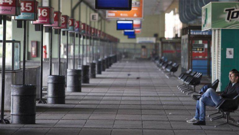 La UTA anunció un paro de 48 horas de micros de larga distancia para el fin de semana