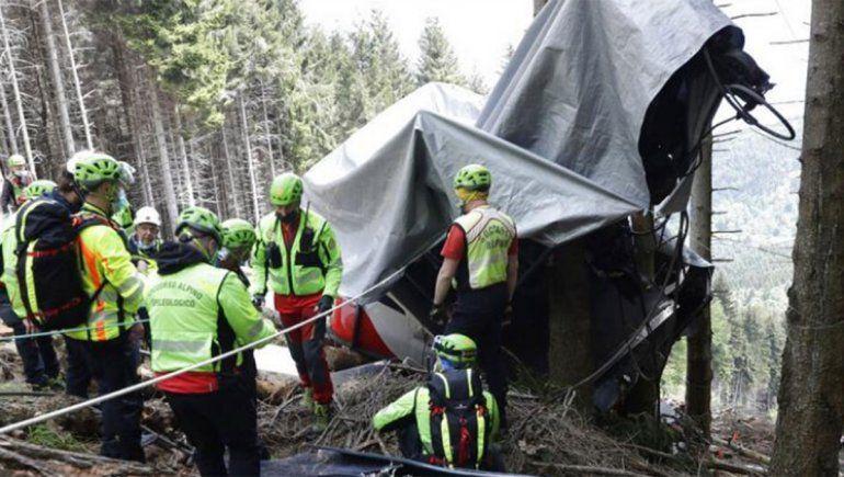 Italia: el juez considera que un técnico es responsable del accidente del teleférico