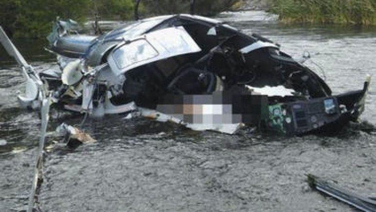El helicóptero se partió al medio: así fue el accidente en el que murió Jorge Brito